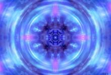 Andělská čtveřice - blue