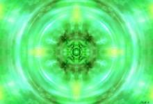 Andělská čtveřice - green