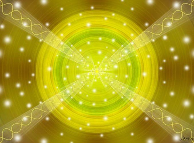 Léčivá mandala solaru a DNA
